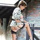 Heels and nylons milf