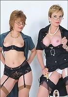 Nylons and panties bosses