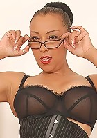 Ebony milf mistress