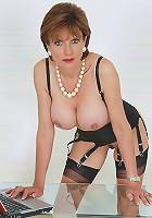Massive tits nylons milf