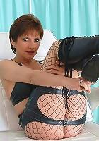 Knee boots milf mistress