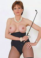 Busty mature mistress