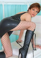 Latex and boots mistress