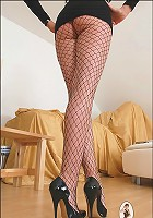 Long mature legs