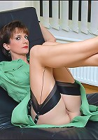 Seamed nylons mature