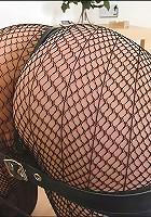 Spanking skirt mature