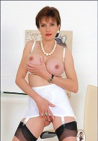 Girdle and nylons milf