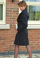 Lady sonia in nylons