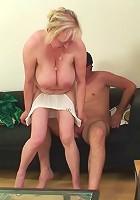 Granny loves cock inside her